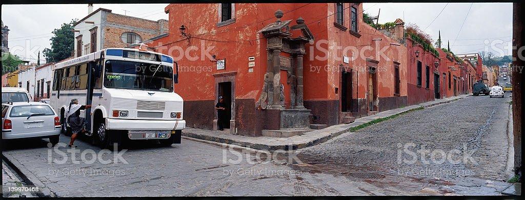 San Miguel Street Corner Series royalty-free stock photo