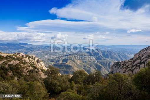 San Miquel del Fai Mountain from Montserrat