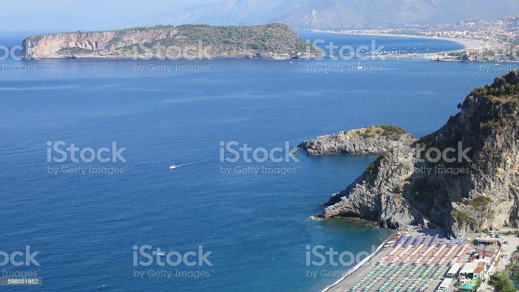 San Nicola Arcella ,Calabria stock photo