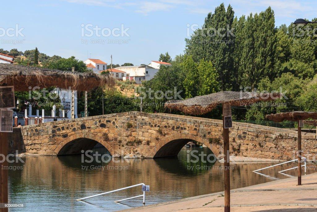San Nicolás del Puerto, Sierra Norte de Sevilla. stock photo