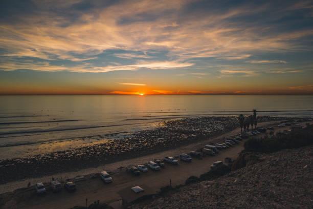 San Onofre Sunset stock photo