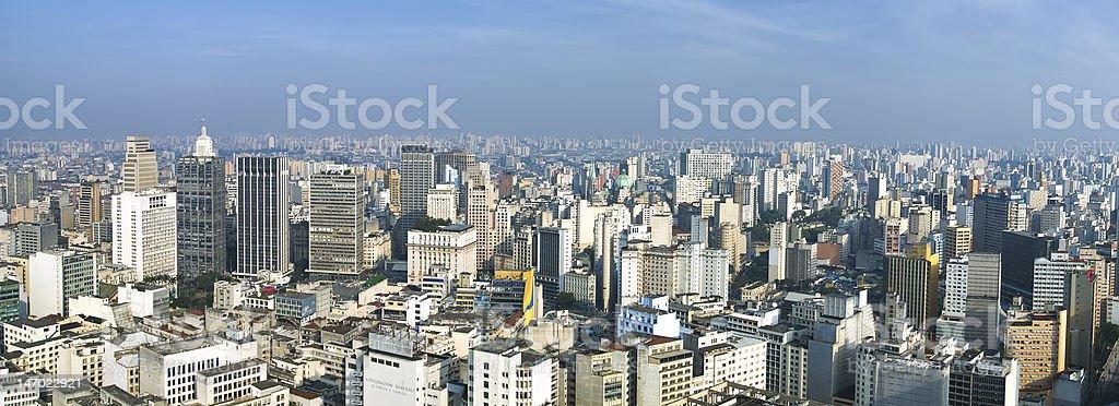 San Paolo skyline, Brasil royalty-free stock photo