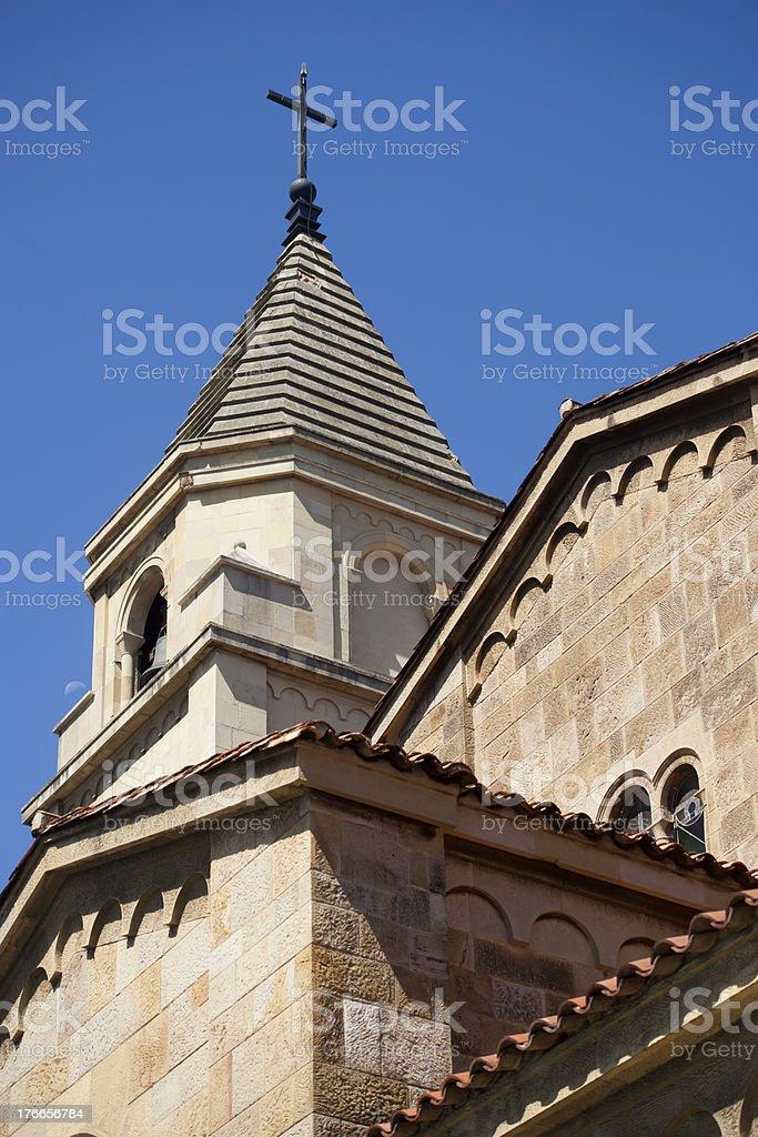 San Pedro church in Gijón royalty-free stock photo