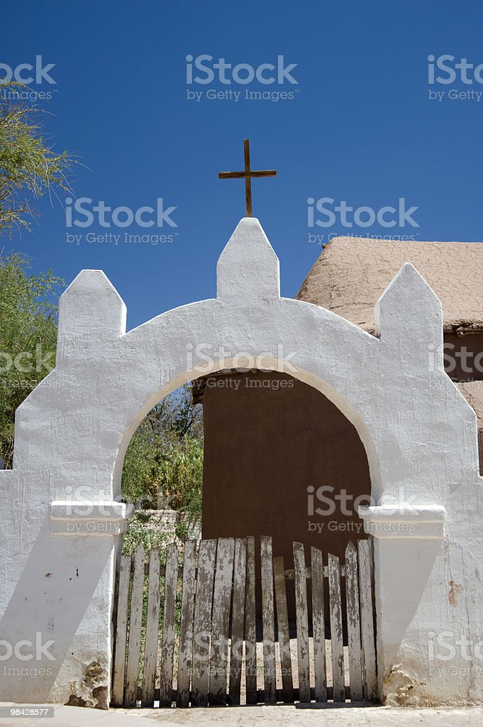 San Pedro la chiesa foto stock royalty-free