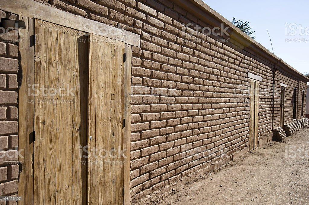 San Pedro de Atacama foto stock royalty-free