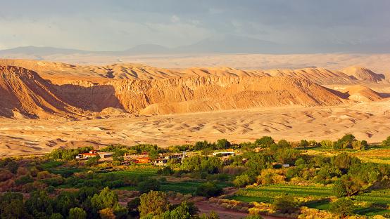 San Pedro De Atacama Village In The High Altitude Desert Chile South America Stock Photo - Download Image Now - iStock