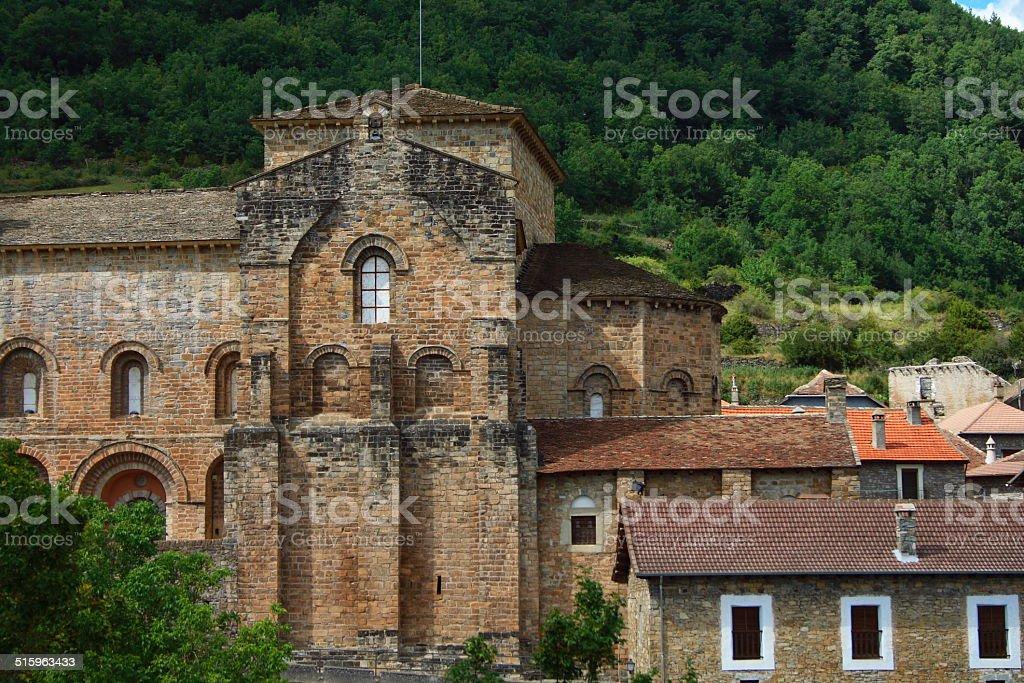 San Pedro De Siresa Monastery stock photo