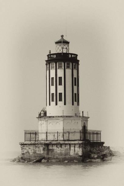San Pedro Lighthouse stock photo