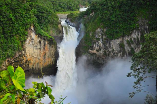 San Rafael Waterfall stock photo
