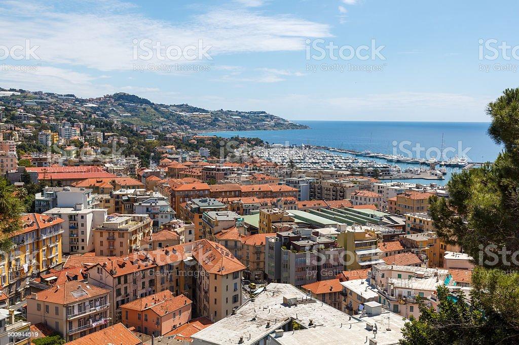 San Remo , Italy stock photo