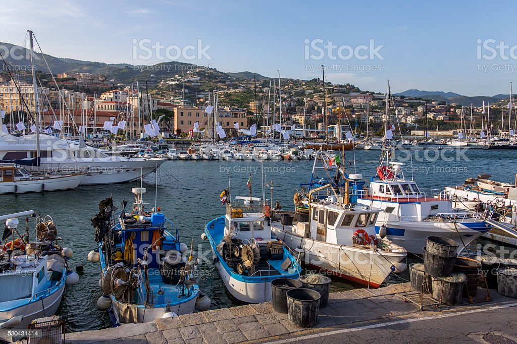 San Remo - Italy stock photo