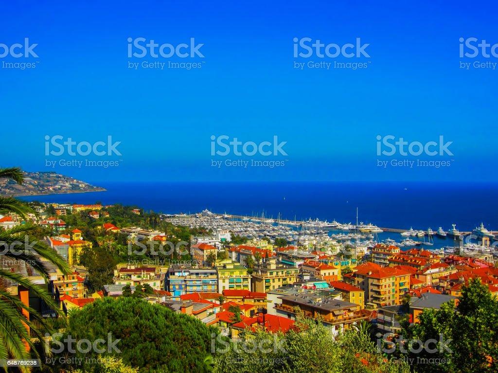 San Remo, Italy stock photo