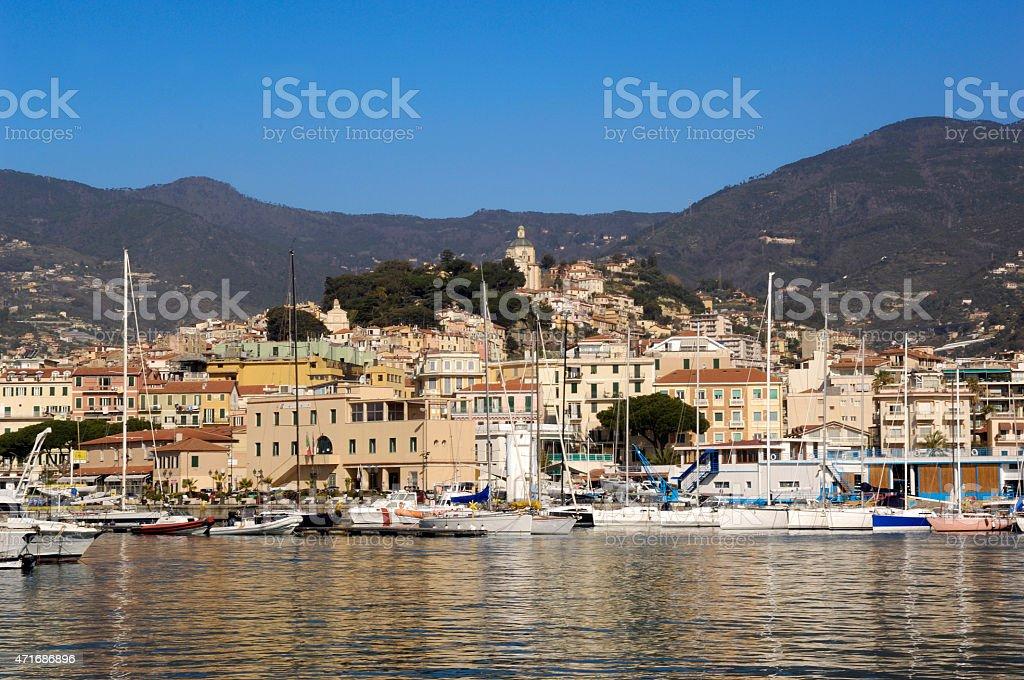 San Remo, Liguria, Italy stock photo
