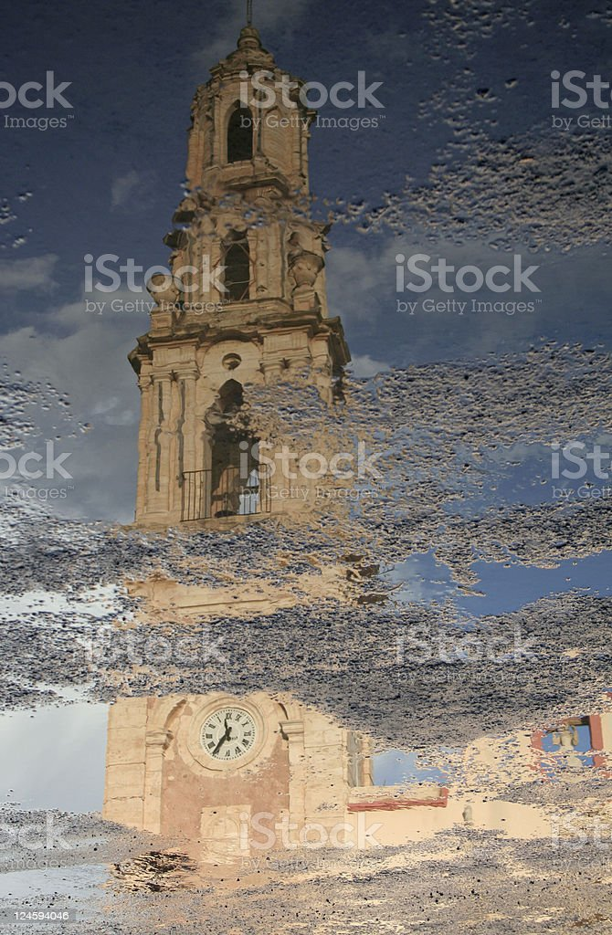 San Salvador Church stock photo