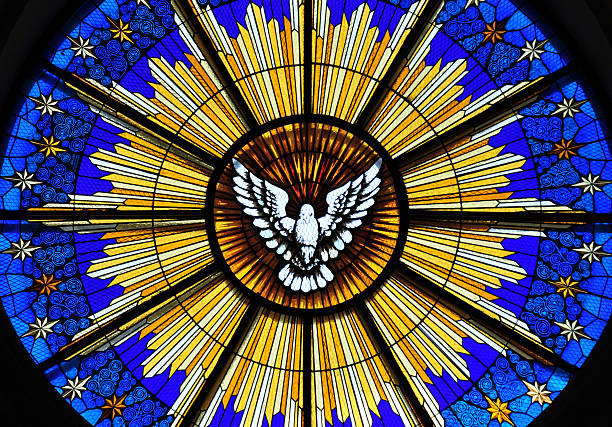 san salvador, el-salvador: cathedral rose window - rose window stock pictures, royalty-free photos & images