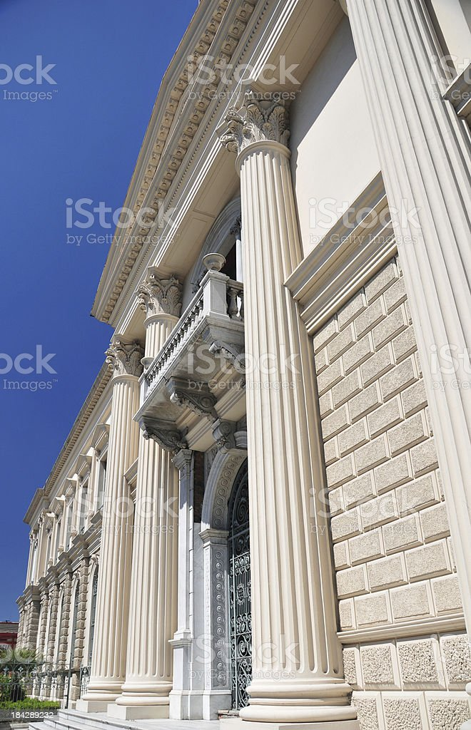 San Salvador, El-Salvador: National Palace royalty-free stock photo