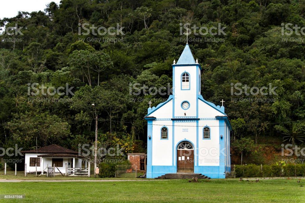 San Sebastian Church stock photo