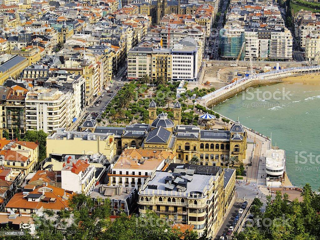San Sebastian, Spain stock photo
