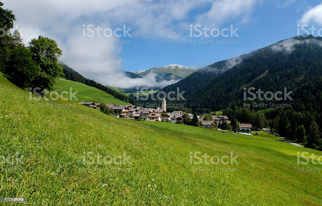 San Silvestro (Puster Valley - Italy) stock photo