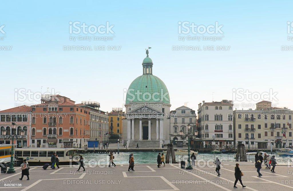 San Simeone Piccolo stock photo