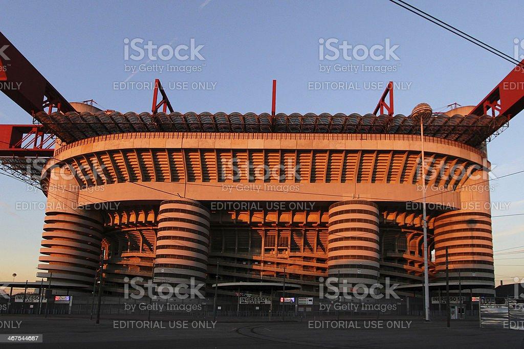 Stadio di San Siro - foto stock