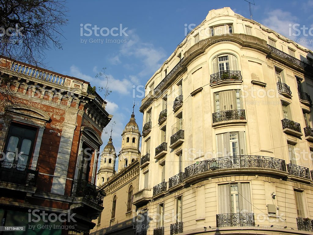 San Telmo, Buenos Aires, Argentina royalty-free stock photo