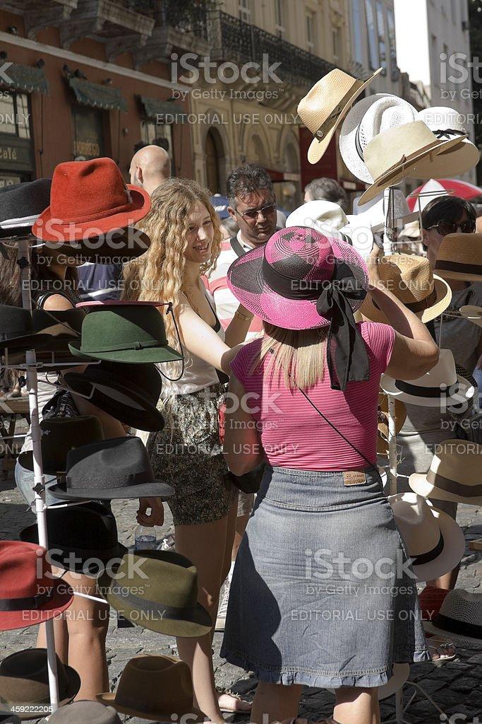 San Telmo Market royalty-free stock photo
