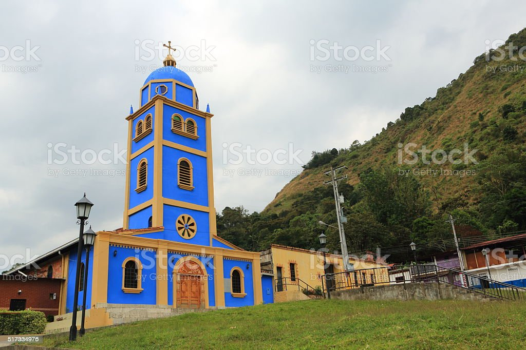 San Vicente Church stock photo