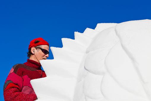 San Vigilio Snow Festival, Latvian Artist