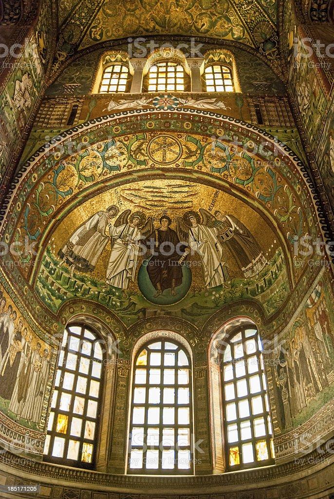 San Vitale Ravenna stock photo