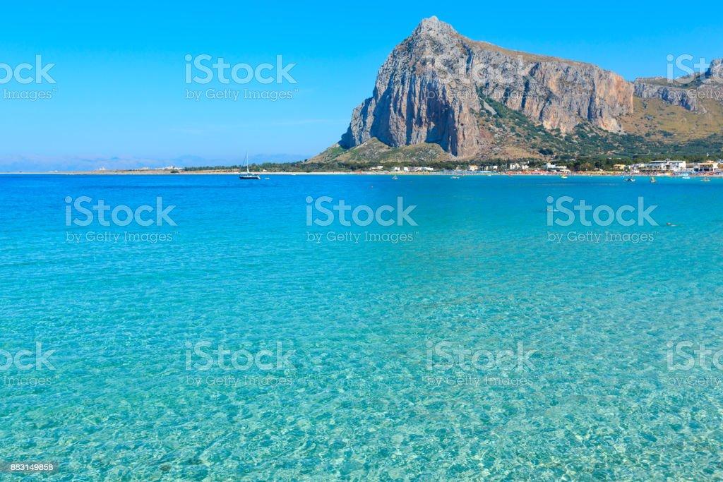 San Vito lo Capo beach, Sizilien, Italien – Foto