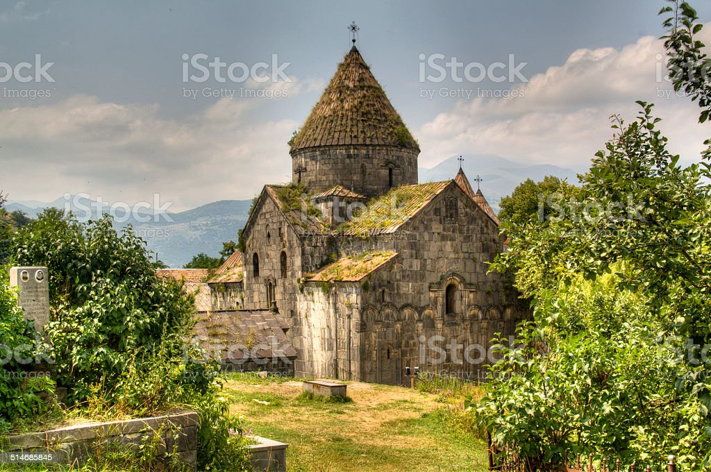 Sanahin monastery stock photo