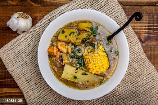 Sancocho - puerto rican beef stew