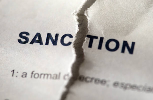 sanction in dictionary shot of word sanction sanctions stock pictures, royalty-free photos & images