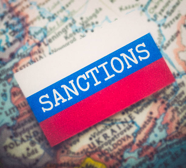 Sanctions Over Russia Sanctions Over Russia sanctions stock pictures, royalty-free photos & images