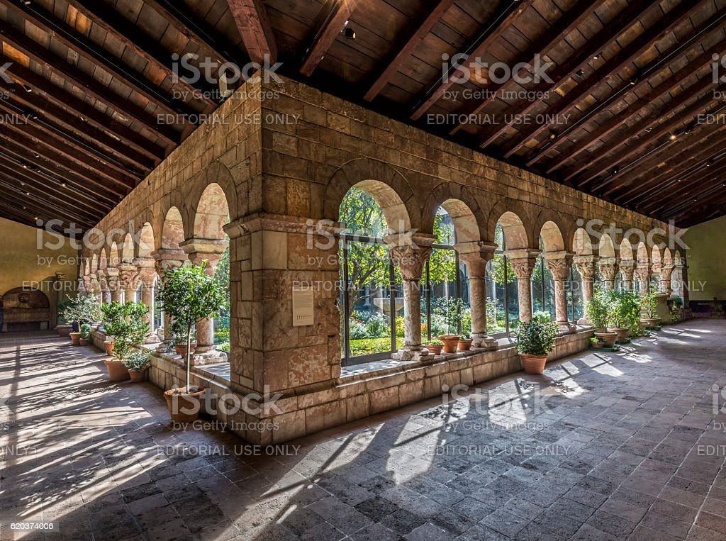 Sanctuary at the Cloisters museum in New York – Foto