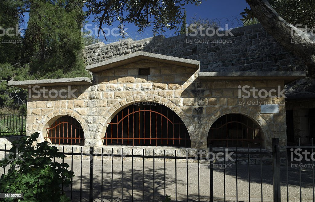 Santuario Dominus Flevit foto stock royalty-free