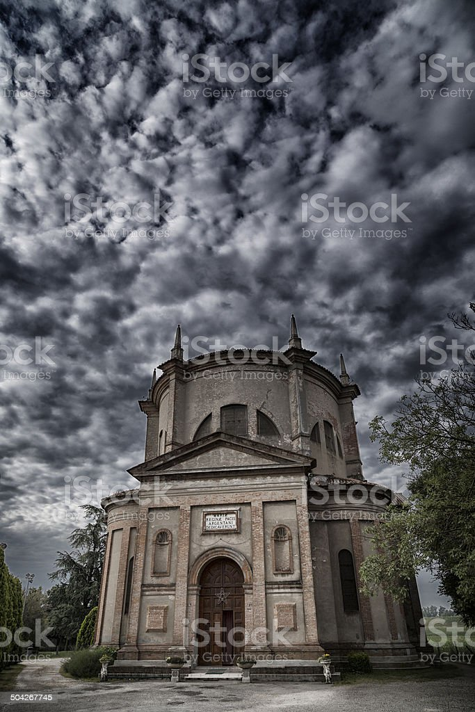 Sanctuary of Celletta stock photo