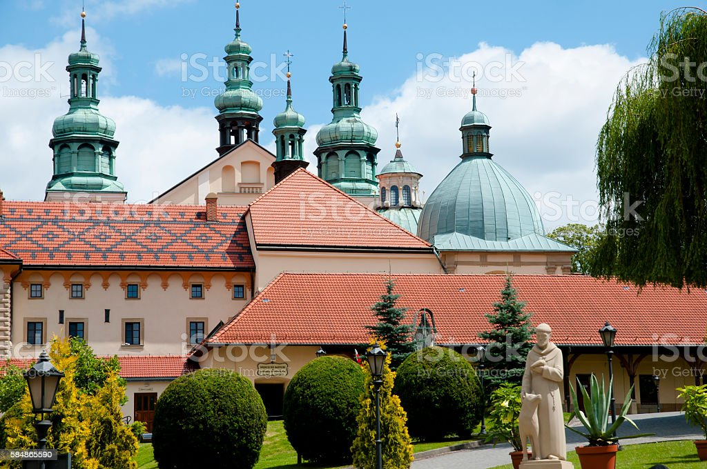 Sanctuary of Kalwaria Zebrzydowska - Poland stock photo