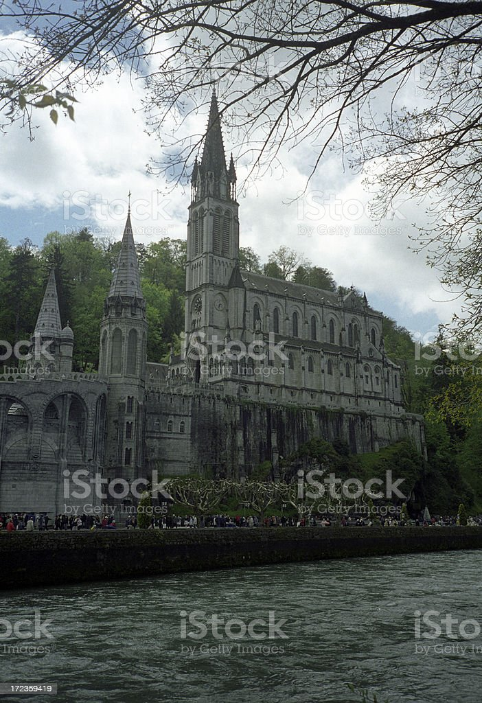Sanctuary of Lourdes royalty-free stock photo