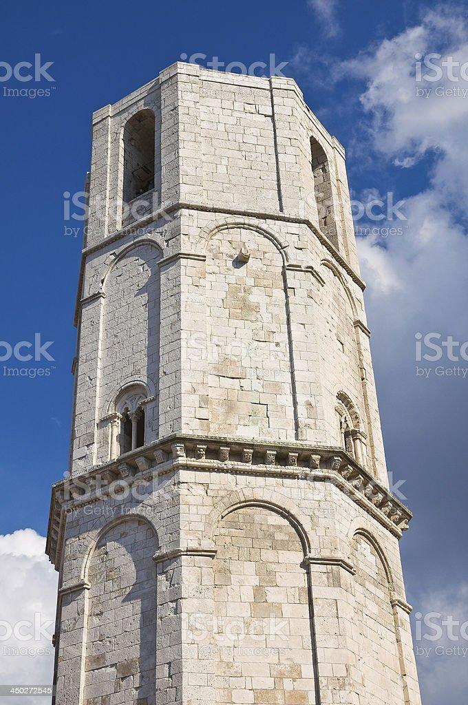 Sanctuary of Monte Sant'Angelo. Puglia. Italy. royalty-free stock photo