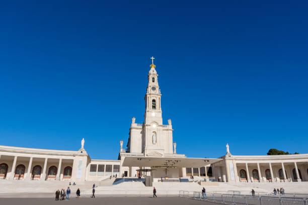 Santuário de nossa senhora de Fátima - Portugal - foto de acervo