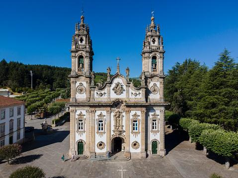 Santuário de Nossa Senhora dos Remédios in Lamego, Portugal