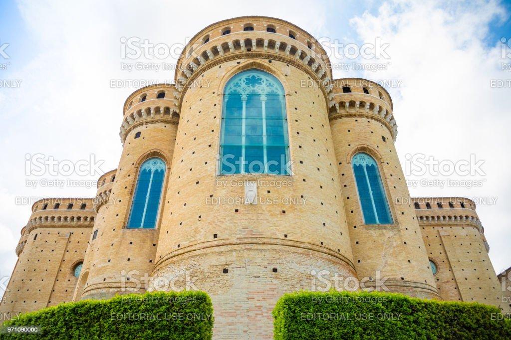 Sanctuary of the Santa Casa, the apse of the Basilica in Loreto, Italy