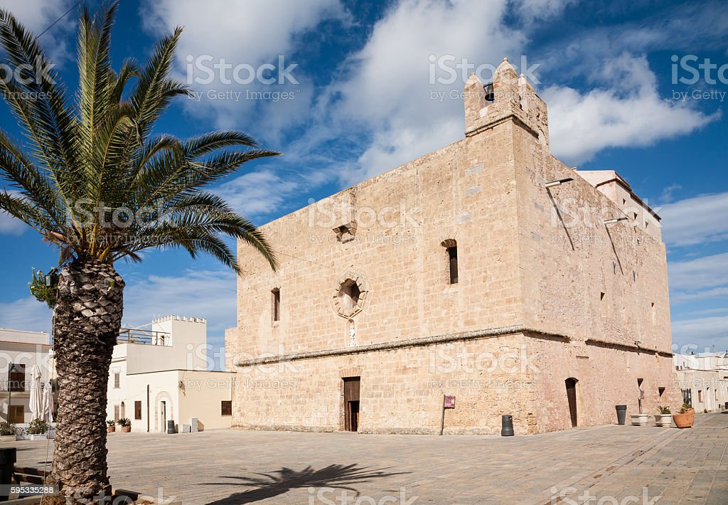 Sanctuary, San Vito lo Capo stock photo