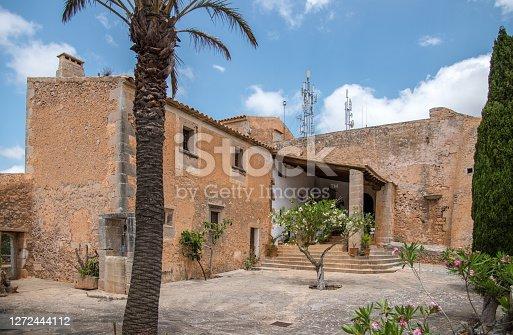 istock Sanctuary Santuari de la Consolació in Mallorca, near Santanyi, Alqueria Blanca 1272444112