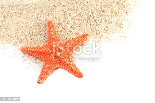 istock Sand and a starfish 824920986