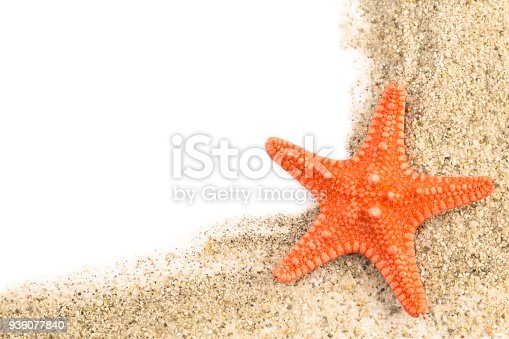 istock Sand and a starfish 936077840