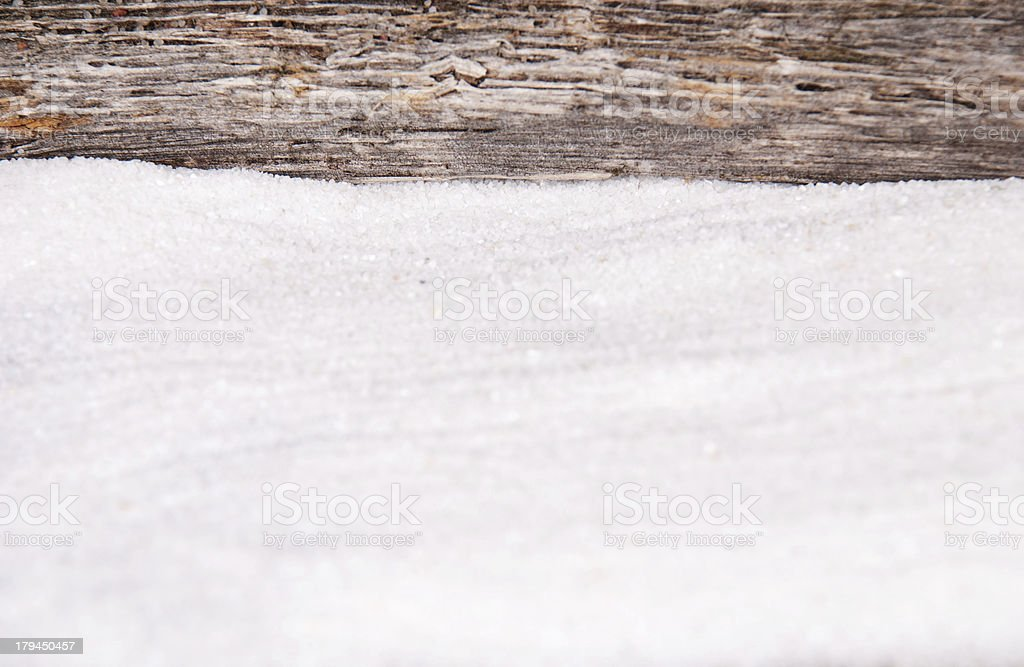 sand and driftwood as background royalty-free stock photo
