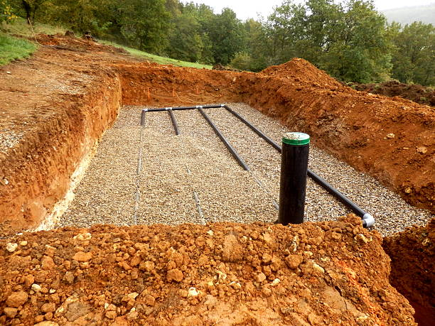 sand and gravel drainage system - poisonous stock pictures, royalty-free photos & images